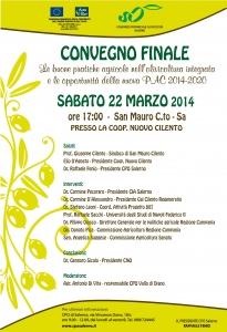 Convegno San Mauro Cilento del 22 marzo 2014